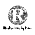 Illustrations by Renée logo