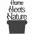 Homemeetsnature logo