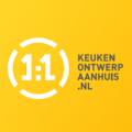 Keukenontwerpaanhuis(1op1) logo