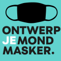 Ontwerp je mondmasker logo